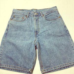 Men's Size 33 Vintage Levi's 550 Jean Shorts Jorts